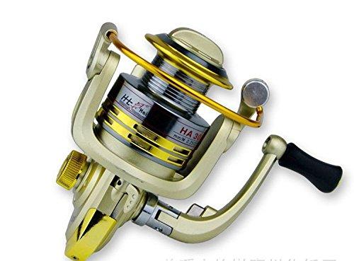 EverTrust ( TM ) 6bbボールベアリング左右手Interchangeable Pesca釣りスピニングリール5.1 : ha3000 1fishingリールのアウトドアスポーツ   B00V346XCQ