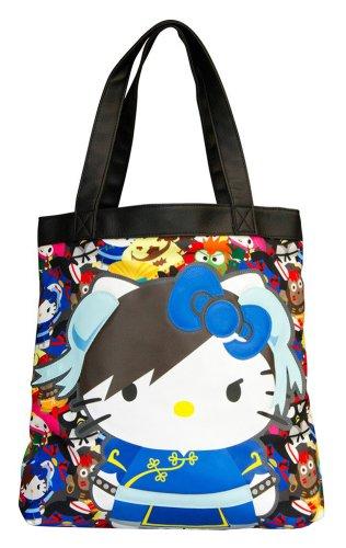 Hello Kitty, Borsa tote donna multicoloured
