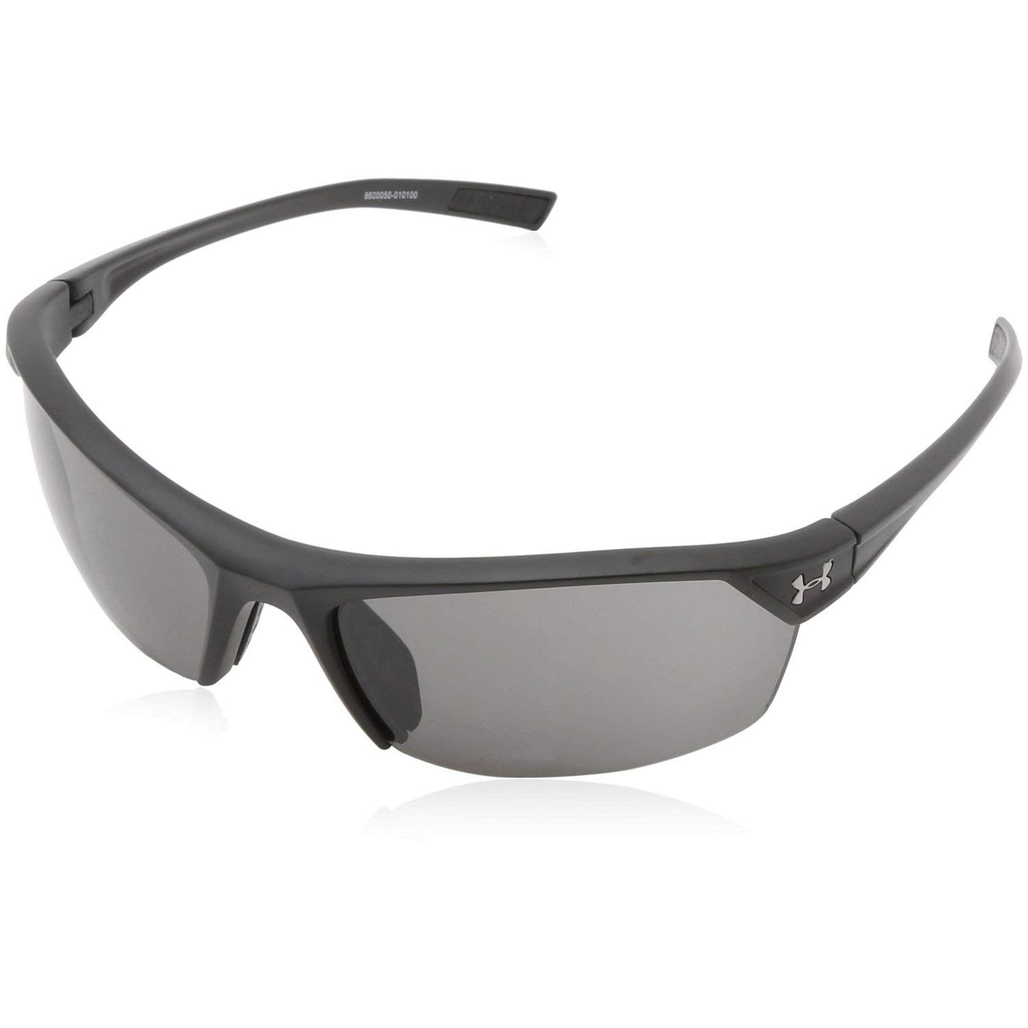 128ab6f108d5 Amazon.com: Under Armour Zone 2.0 Satin Black Frame, with Black Rubber and  Gray Lens: Clothing
