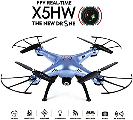 GoolRC X5HW Drone con Cámara Wifi FPV Modon sin Cabeza 360 ...