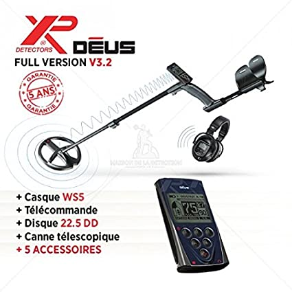Detector de metales XP Deus – Full Version WS5