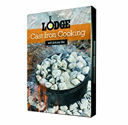 Lodge DVDNIX2 Cast Iron Cookware and Charcoal with Johnny Nix DVD