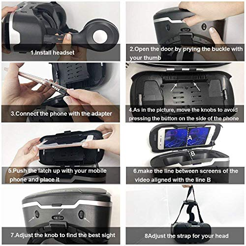 92c295770997 Virtual Reality Headsets VR Headset