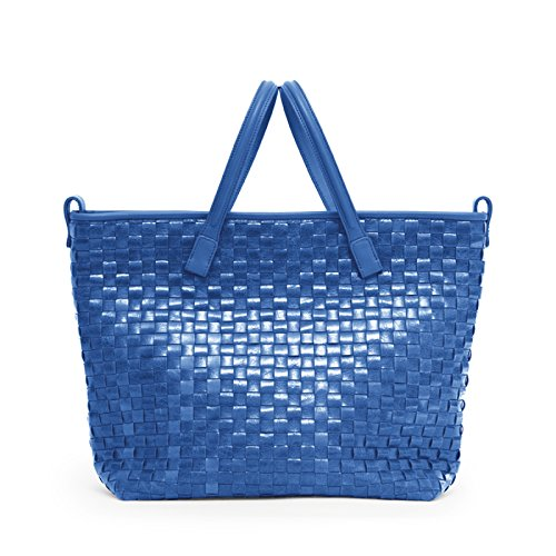 Gretchen Blue Chess Two Tote Midi French 6C6qwr8
