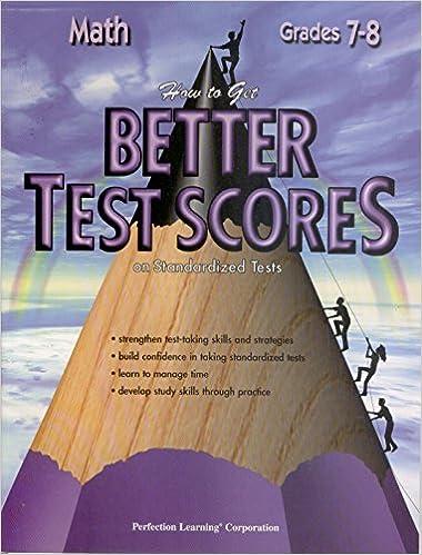 Better Test Scores Math: Editor: 9780789122889: Amazon com: Books