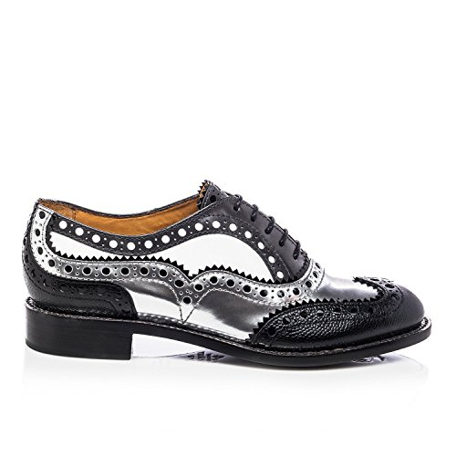 Office Angela of amp; Brogue Oxford The Mr Doubt Scott Black Silver TAgwqU