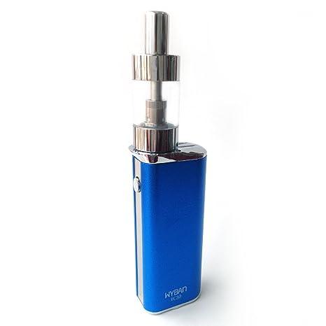 WYBAN Cigarrillo Electrónico 30W Función de Relleno a Tope Atomizer, 2ml Atomizadore Vapeador Kit de