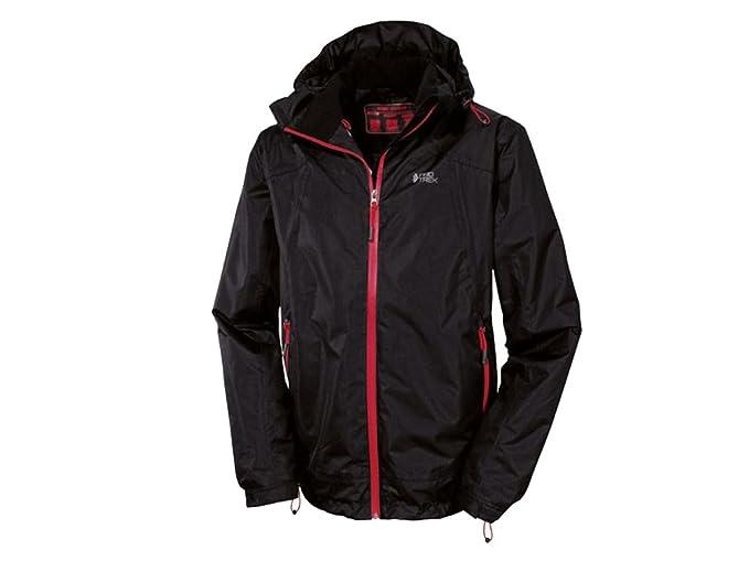 Hombre Trekking Chaqueta con capucha chaqueta para ...