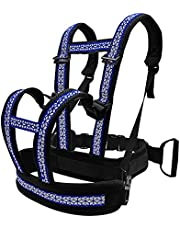Children Motorcycle Safety Harness, Kids Motorcycle Harness with Adjustable Height and Waist Circumference, Double Handle Design, Reflective Strip Design
