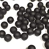 RAP4 100 Count Rubber Training Paintball - Black