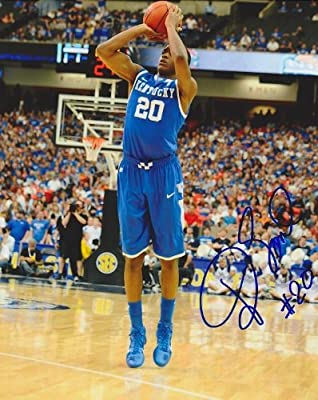 Doron Lamb Autographed / Hand Signed Kentucky Wildcats 8x10 Photo - 2012 NCAA National Champions
