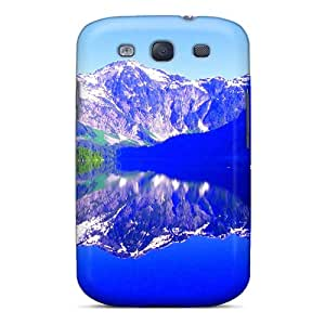 For Galaxy S3 Protector Case Forest Lake Phone Cover