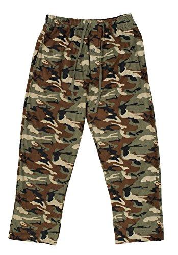 Super Soft Fleece Pants (North 15 Men's Camo Super Soft Fleece Lounge Pants - XX-Large, Camoprint1)