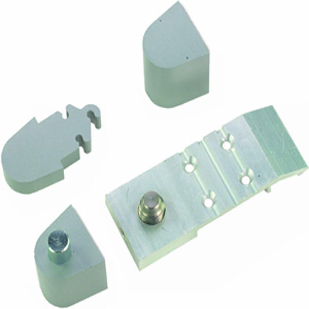 Global Door Controls Aluminum Aldora Style Right Hand Offset Pivot