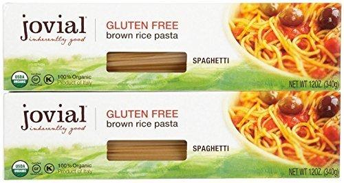 Jovial Gluten Free Brown Rice Pasta - Spaghetti - 12 oz - 2 pk