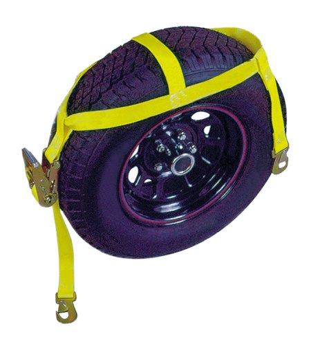 Keeper 04513 5.5' Over the Wheel Ratchet Tie Down