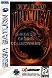 "CGC Huge Poster - Mortal Kombat Trilogy BOX ART - Sega Saturn - SAT043 (24"" x 36"" (61cm x 91.5cm))"
