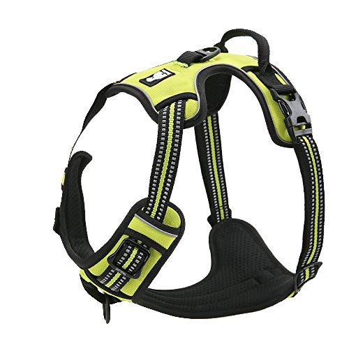 EXPAWLORER Best Front Range No-Pull Dog Harness. 3M Reflective Outdoor...