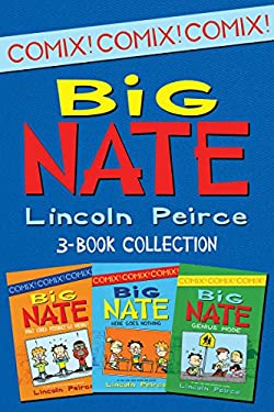 Big Nate Comics 3-Book Collection: What Could Possibly Go Wrong?, Here Goes Nothing, Genius Mode (Big Nate Comix)