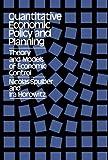Quantitative Economic Policy and Planning, Nicolas Spulber and Ira Horowitz, 0393334643