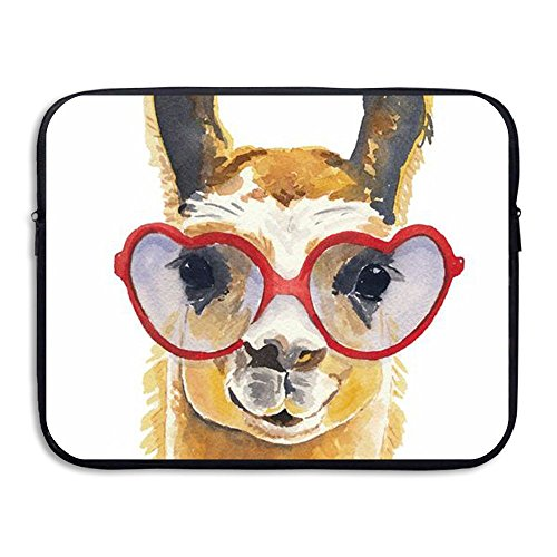 Giraffe Wear Heart Sunglass Water Repellent Laptop Case Bags Printed Ultrabook Briefcase Sleeve Bags Cover For Macbook Pro/Notebook/Acer/Asus/Lenovo Dell 13 - Sunglasses Trick