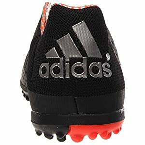 Adidas Freefootball Crazyquick TF Turf Soccer Cleat (Black, Solar Red) 6.5