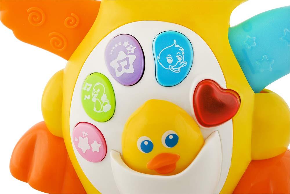 Interaktives Entenspielzeug f/ür Kinder Ente Entchen f/ür Kleinkinder 6287