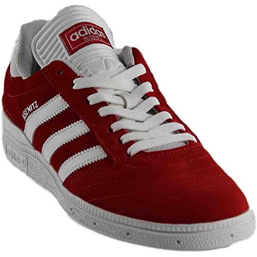 fc9a27f2aad Galleon - Adidas Busenitz Mens Fashion-Sneakers BB8432 7.5 - Scarlet Footwear  White Footwear White