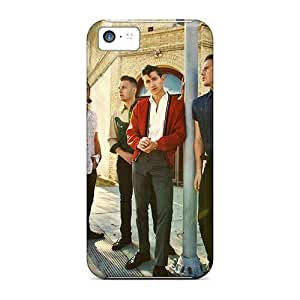 Iphone 5c PTW2054rVpA Support Personal Customs Lifelike Arctic Monkeys Band Pictures Excellent Hard Cell-phone Cases -EricHowe