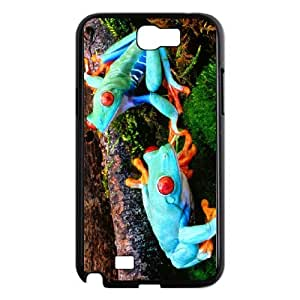 Animals - frogs pattern design For Samsung Galaxy Note 2 N7100 Phone Case