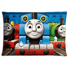 20x30 inch 50x76 cm home pillow cover case Polyester Cotton Finest Generously Thomas the Tank Engine & Friends