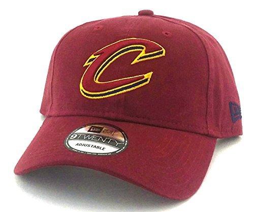 Cleveland Cavaliers Cavs New Logo Era 9Twenty Dad Adjustable Red Wine Strapback Hat Cap