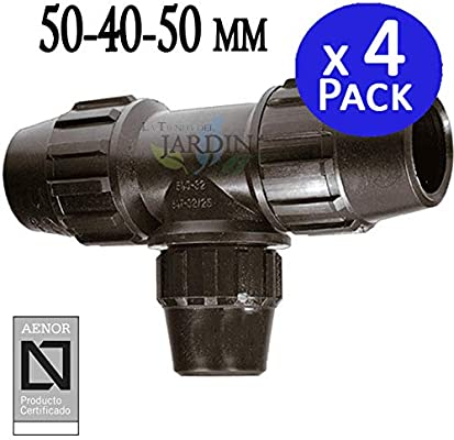Pack 4 x TE 50-40-50 MM POLIETILENO. Producto con certificado ...