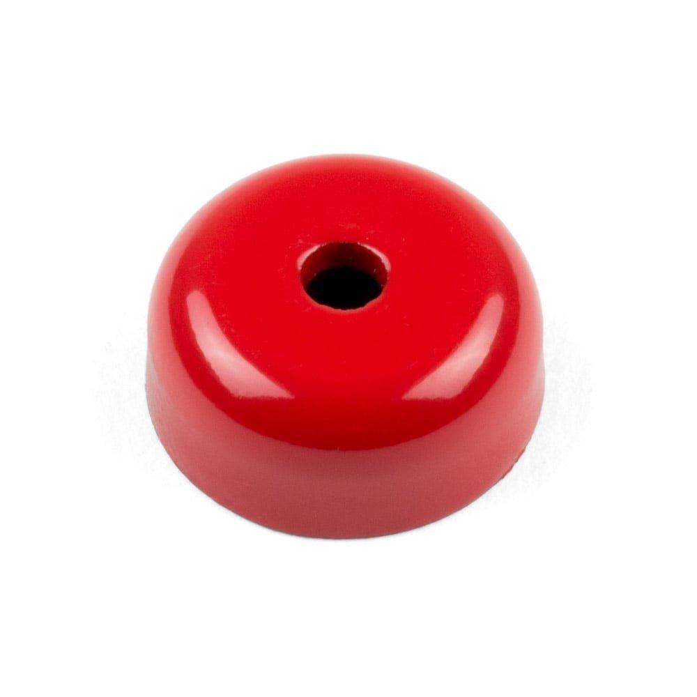 Magnet Expert® 19mm diamètre x 7,5mm Alnico peu profond serrage aimant, 5,2mm diamètre fraisée trou, 3kg force d'adhérence, pack de 4