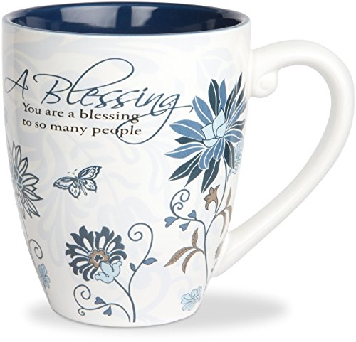 Pavilion Gift Company 66338 Blessing Ceramic Mug, 17-Ounce, Mark My Words (Cups Religious)