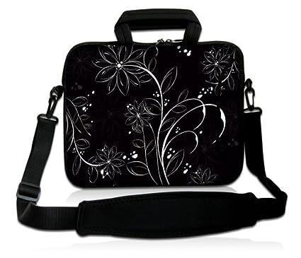 Familia feliz motivo Luxburg/® Design Funda bandolera Blanda Bolso Sleeve para Ordenador Port/átil//MacBook de 15,6 pulgadas