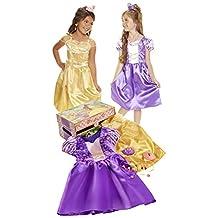Disney Princess 53041 Disney Princess Belle & Rapunzel Dress Up Trunk