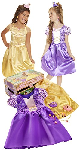Disney Princess Belle & Rapunzel Dress Up (Princess Dress Up Trunk)