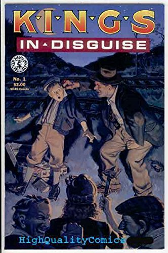 KINGS IN DISGUISE #1, VF, Kitchen Sink, 1988, Hobos, Rude