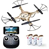 "Force1 RC Drone Kids Adults – ""X5UW"" WiFi FPV Drone Camera Live Video – Remote Control Camera Drones Beginners, Kids Adults"