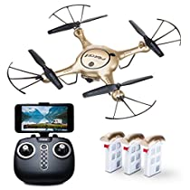 Drone with Camera Live Video - Force1 X5UW WiFi FPV Drone with Camera – Remote Control RC Camera Drones for Beginners, Kids andAdults