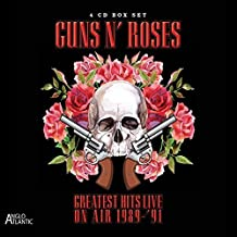 Greatest Hits Live - In Concert On Air 1992-1995 (4CD) by Guns N' Roses