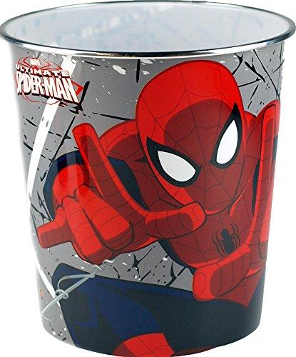 Spiderman Marvel Heroes Papierkorb, für Kinderzimmer