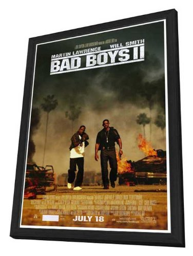 Bad Boys II - 27 x 40 Framed Movie Poster by Movie Posters