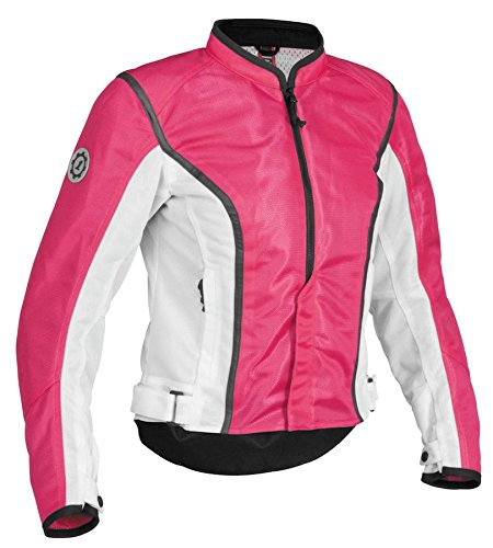 Firstgear First Gear CONTOUR MESH JACKET PNK/BLK WOMEN'S (Firstgear Womens Contour Mesh Jacket)