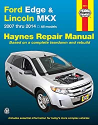 Image of the product Ford Edge and LIncoln MKX that is listed on the catalogue brand of Haynes Repair Manuals.