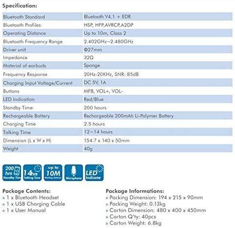 Elektronik & Foto Leicht-Kopfhrer sumicorp.com TronicXL Bluetooth ...