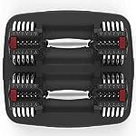 AYHa-20Kg-Fusioni-in-acciaio-regolabile-Set-di-manubri-peso-Mano-con-maniglie-manubri-solidi-cambiato-in-Bilanciere-comoda-Perfetto-per-Bodybuilding-Peso-Fitness-sollevamento-Formazione-Home-Gym