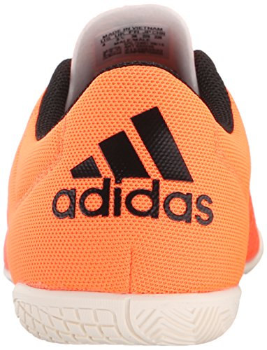 adidas X 15.3 CT J Tacos para Fútbol (Little Kid) Solar Orange/Black/Chalk White