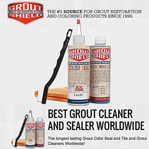Grout Shield Grout Restoration System-New Colors (Taupe) by Grout Shield (Image #2)